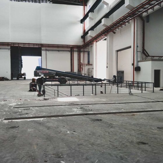 stainless steel railing at mtm kapar
