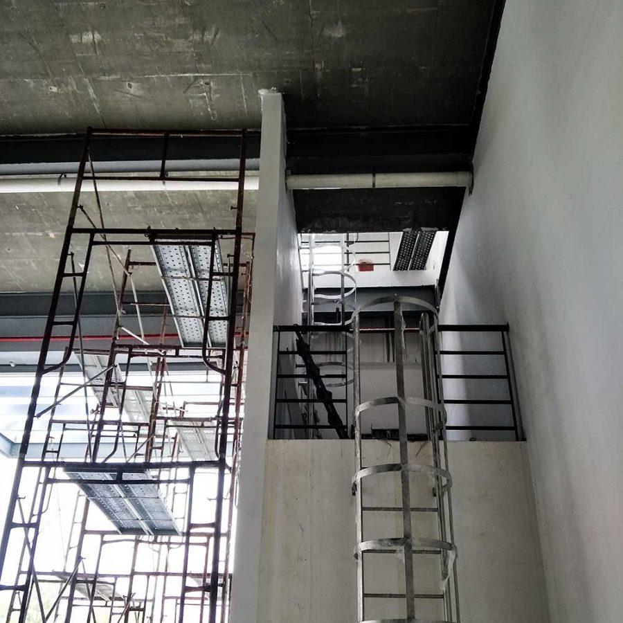 stainless steel ladder at mtm kapar